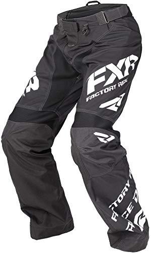 FXR Cold Cross RR Pant (Black/White, 2X-Large) (Snowmobile Fxr Pants)
