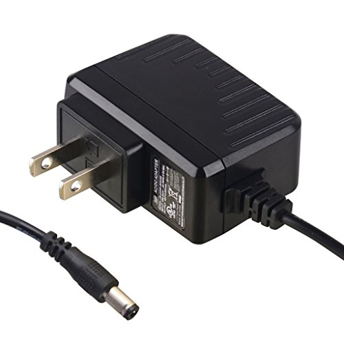 PryEU 6W Power Supply 120V AC to 12V DC 500mA Charger Transformer Adapters UL Listed with Jack 5.5mm x 2.1mm