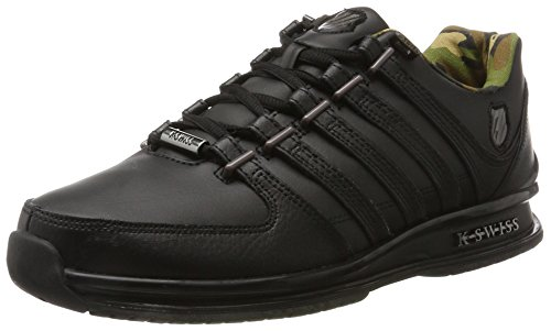 K-Swiss Mens Rinzler SP Trainers, Black Black/Gunmetal/Camo