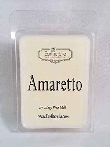 AMARETTO Natural Soy Wax break-apart tart melts, 2.7 oz. cherry, - Collection Natural Cherry