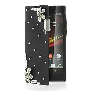 """Generic SONCAS11555-STOCK 5"""" Folio Negro funda para teléfono móvil - fundas para teléfonos móviles"""