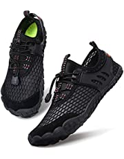 3b550941948ca Centipede Demon Water Shoes for Mens Womens Quick Dry Aqua Barefoot Beach  Swim Surf Diving Shoe