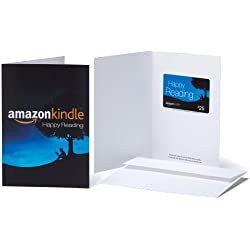Amazon.com $25 Gift Card in a Greeting Card (Amazon Kindle Design)