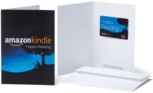Amazon.com $25 Gift Card in a Greeting Card (Amazon Kindle Design) ()