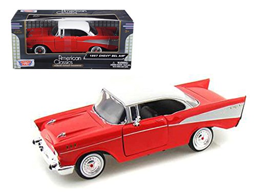 (1957 Chevy Bel Air Diecast Scale 1:24 by)