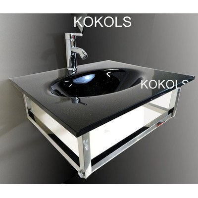 Bathroom Vessel Sink and Faucet by KOKOLS