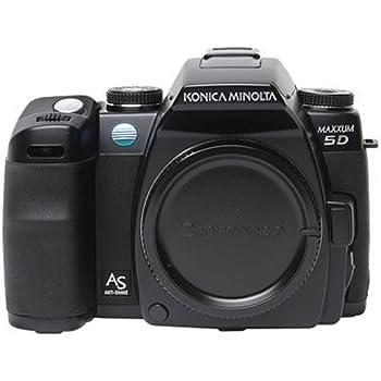 Konica Minolta Maxxum 5D 6.1MP Digital SLR Camera with Anti Shake (Body Only)