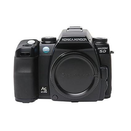 amazon com konica minolta maxxum 5d 6 1mp digital slr camera with rh amazon com Nikon D5100 Manual Nikon D60 Manual