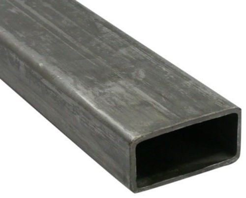 RMP Hot Rolled Carbon Steel Rectangular Tubing, 4 Inch x 2 Inch Sides, 11 Ga. Wall, 12 Inch Length ()