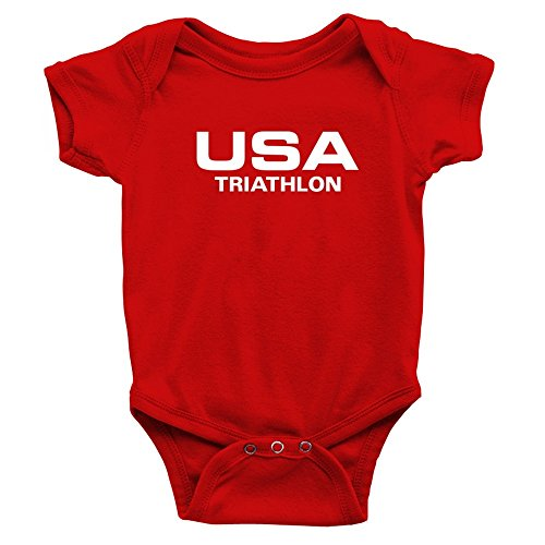 Teeburon USA Triathlon Athletic America Baby - Suit Triathlon Usa