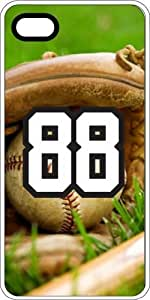 iphone covers Baseball Sports Fan Player Number 88 Clear Plastic Decorative Iphone 6 4.7 Case