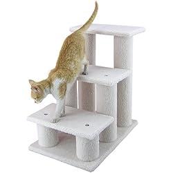 Armarkat Pet Steps, 3-steps, B3001, Ivory