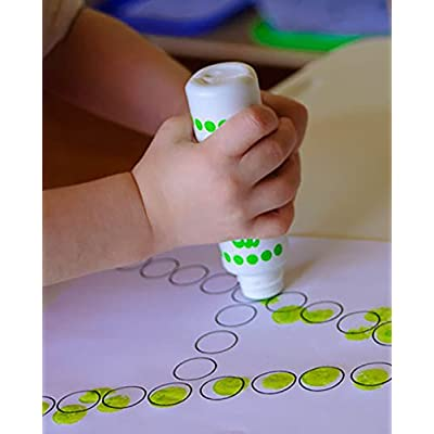 Washable Do A Dot Markers - Set of 36 Rainbow Paint Arts and Crafts Supplies for Kids and Toddler Activities for Preschool Kindergarten and Elementary School Teachers Classroom Pack by Do A Dot Art: Toys & Games