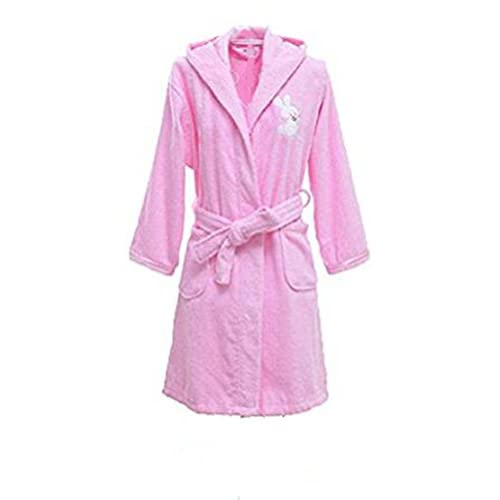 hot sell Sunrise Boys and Girls Embroidered Hooded Terry Cotton Bathrobe Robe