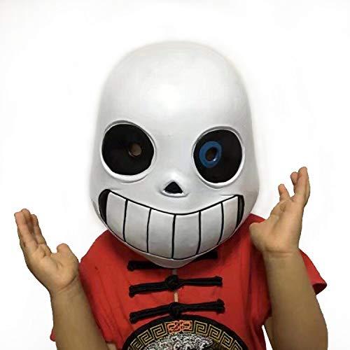 Moran Latex Full Head Hood Masque Halloween Adult and Kid's Costume Accessory (Kids Size) -