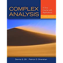 Complex Analysis: A First Course with Applications