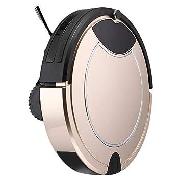 CARWORD Forma Redonda Hogar Smart Automático Aspirador Anti Caída Auto Recarga Piso Polvo Limpieza Barrido Robot: Amazon.es: Hogar