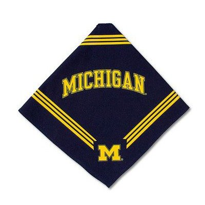 Sporty K9 Michigan Dog Bandana, Small, My Pet Supplies