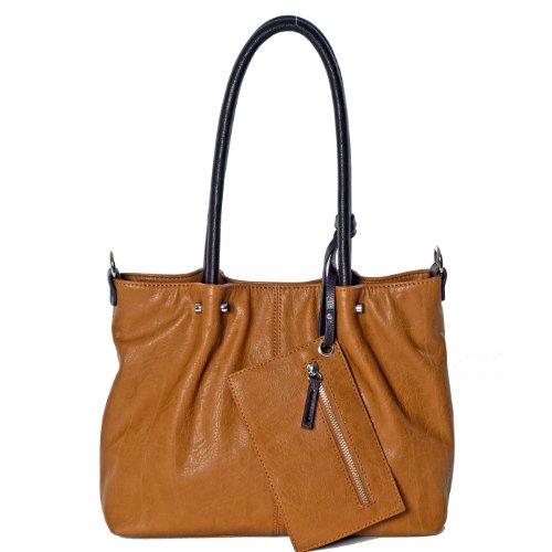Mano A Ii Shopper 35 braun Braun Cm In Maestro Borsa Cognac Surprise Bag TntqxEHCg