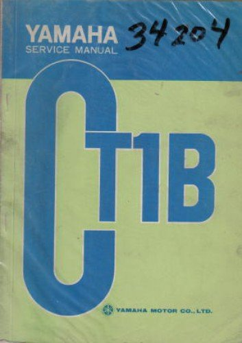 YAM-CT1-B Yamaha CT1-B Motorcycle Service Manual 1970 for sale  Delivered anywhere in USA