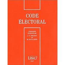 Code électoral (ancienne édition)
