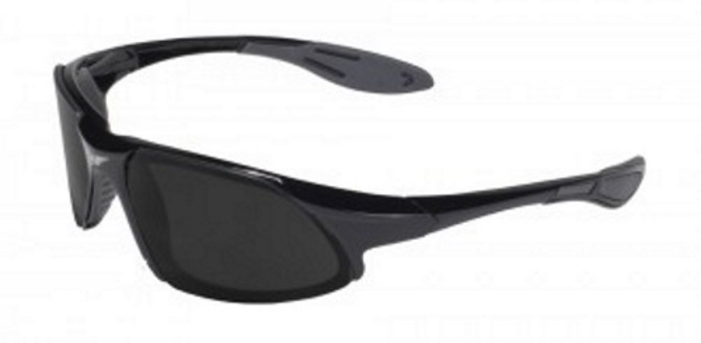 Global Vision Code-8 Super Dark Lens Sunglasses Safety Glasses ANSI Z87.1