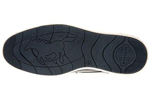 Ginnastica da Graphit 307 Grau 303 Scarpe Grau Basse Mustang Uomo 4111 wBqCAp