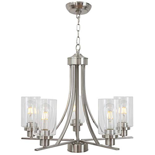 Traditional Dining Room Light Fixtures: Amazon.com: BONLICHT Traditional Chandelier Lighting 5