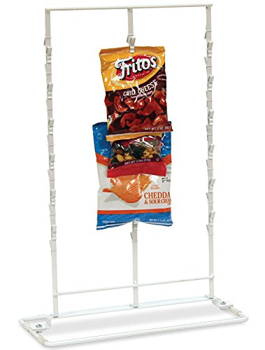 New Retail Countertop Clipper Store Display 36 Clips Rack 3 Rows - Store Row