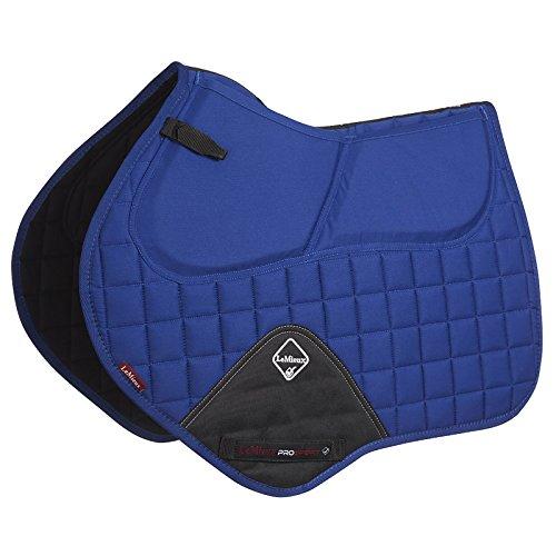 Le Mieux ProSport Pro Sorb System Close Contact Square Saddle Pad Large Benetton Blue