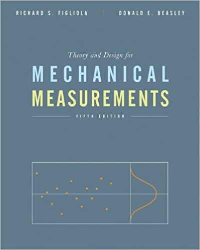 mechanical measurements 5th edition figliola solutions manual