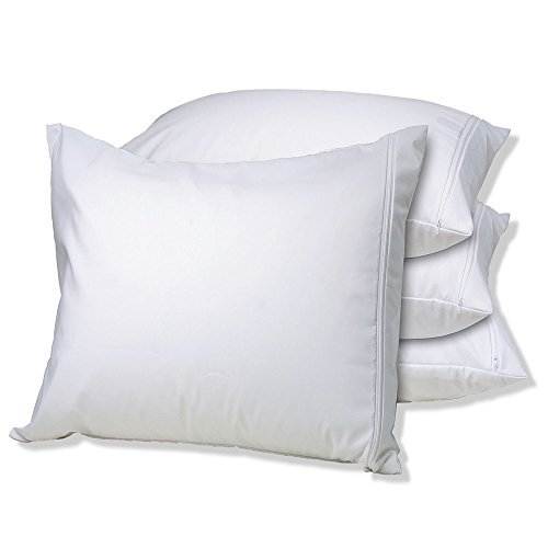 White Knight Engineered Products Allergy Guardian Ultimate Cotton Pillow Encasings King
