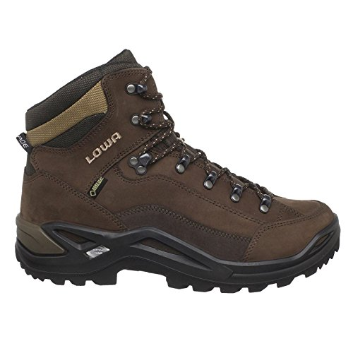 Lowa Men's Renegade GTX Mid Hiking Boot,Expresso/Brown,10 M US