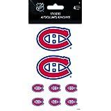 Trends International Sandylion Montreal Canadiens Standard Highgloss Stickers, 4-Sheet