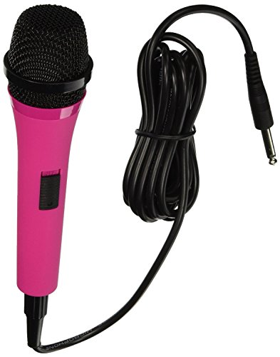 205P Unidirectional Dynamic Microphone with 10 Ft. Cord - Pink (Certified Refurbished) ()