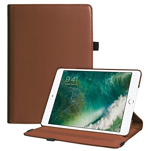 Fintie iPad 9.7 2018 2017 / iPad Air 2 / iPad Air Case - Multiple Angles Stand Smart Protective Cover with Auto Sleep Wake for iPad 9.7 inch (6th Gen, 5th Gen) / iPad Air 2 / iPad Air, Brown