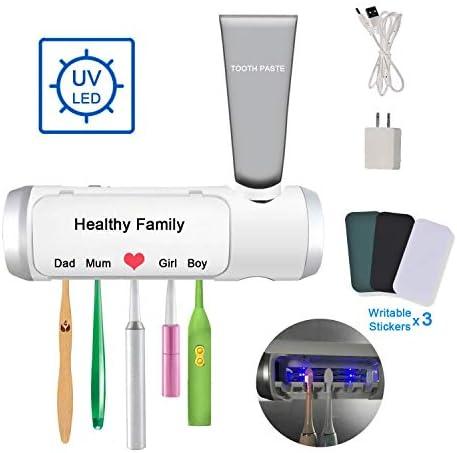 Pur Well UV Light Toothbrush PW Family UV B100 Light Sterilizer For 5 Brushes