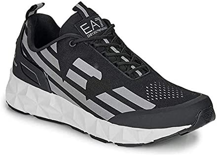 EA7 Mens Ultimate Racer Running Style Trainers Black 9 UK