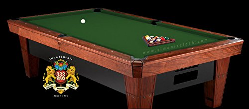 (Simonis 860 English Green Pool Table Cloth - 8')