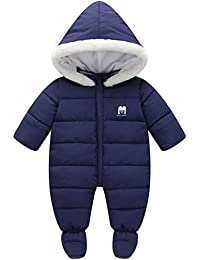 0f21a52aafbb Baby Girls Boys One Piece Front Zippers