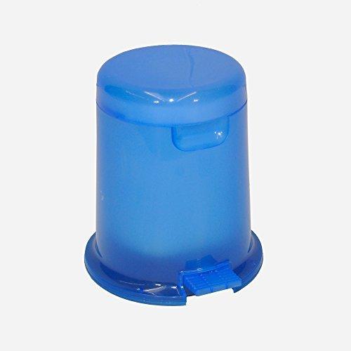 Tretmülleimer, Badmülleimer mit 5 Liter Volumen und herausnehmbaren Einsatz. In tollem