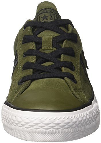 Converse Player Mixte Herbal Ox Baskets Black Adulte White Star UUqSrA