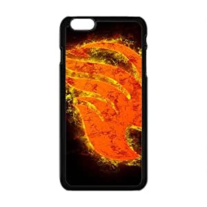Cool Painting Burning Fairy Tail Cell Phone Case for Iphone 6 Plus
