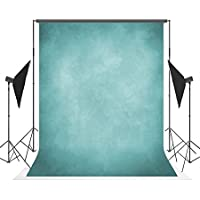 5x7ft Blue Photography Backdrops Wrinkle free Blue Neutral Photo Background