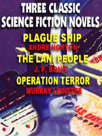 book cover of Plague Ship / Lani People / Operation Terror