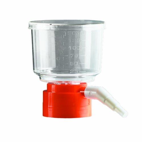Corning 430049 Polystyrene Bottle Top Vacuum Sterile Filter, Nylon Membrane, 0.2 Micron, 45mm Bottle Neck Diameter, 500mL Capacity (Case of 12) by Corning