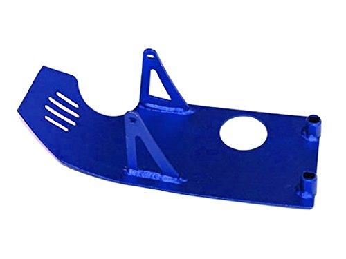 Dirt Bike Sabot moteur en alu Bleu