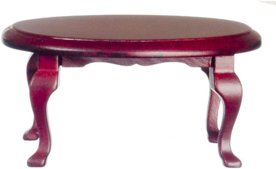 MAHOGANY DOLL HOUSE  MINIATURE END TABLE