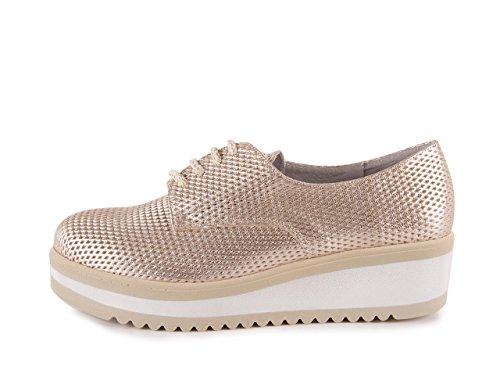 Chamby Zapato Cordones Gemina Oro
