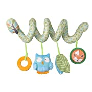 Zobo Spiral Car Seat Toy - Owl